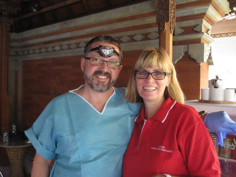 Ian with Dr Jane Taylor, Team Leader & Associate Professor at Newcastle University School of Oral Health.