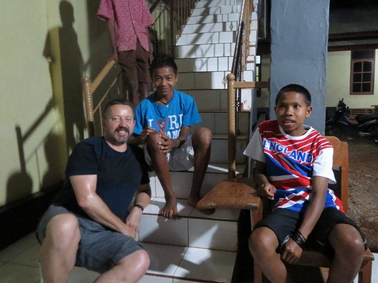 kids from the orphanage
