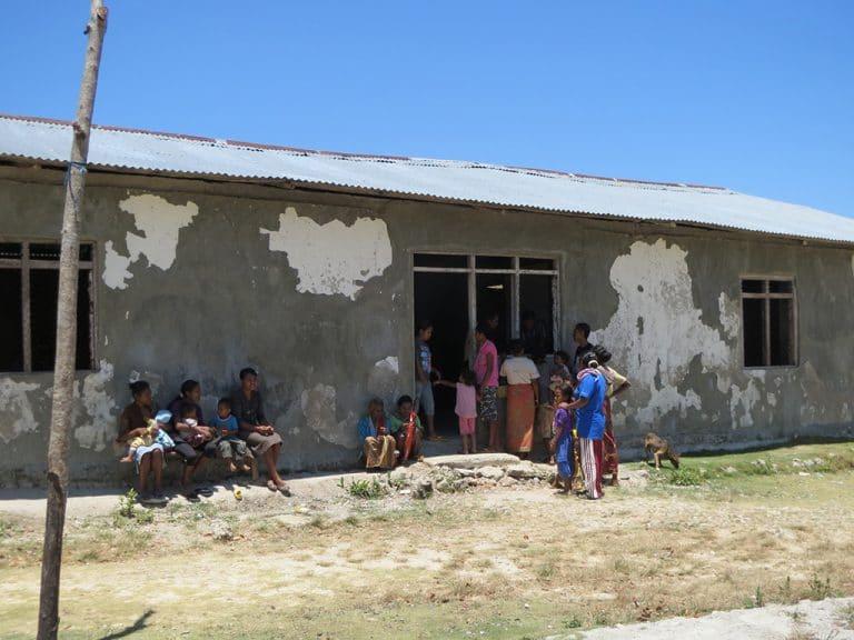 Rustic community building